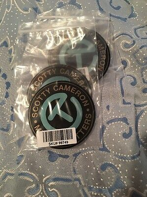 Rare Brand New Scotty Cameron Tiffany Blue Circle T Sticker Nice Gift Idea