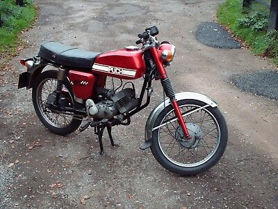 Puch M Sport 50 Moped Motorcycle 1974 - 1975 N REG - SHED FIND London South East