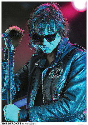 """The Strokes Julian Casablancas On Stage 2011 Poster 23.5"""" x 33"""" UK Import"""
