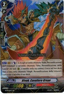 VANGUARD TCG - BT01/014IT RR - Aleph, Cavaliere Drago