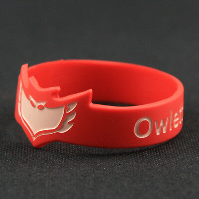 PJ Masks Owlette Wristband Kids Toy Silicone Bracelet For Kids Child # Red
