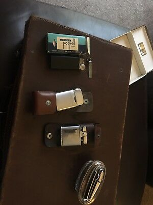 Four Vintage Cigarette Lighters