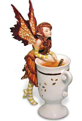 Amy Brown Pixie Fairy Tea Cup Figurine Collectable