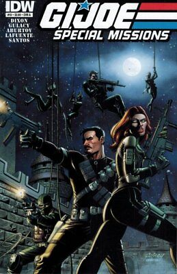 GI Joe Special Missions #13 Cover A IDW (2013-2014)