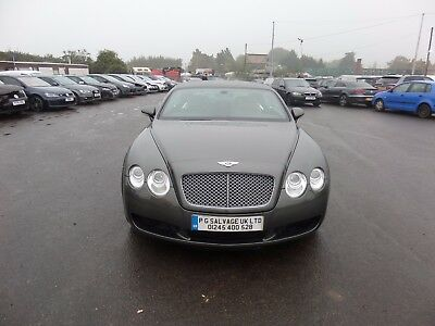 2004 (54) Bentley Continental Gt 6.0 V12 Petrol Auto Damaged Repaired Salvage