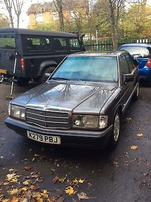1992 Mercedes 190E Manual Damaged Repairable Category C