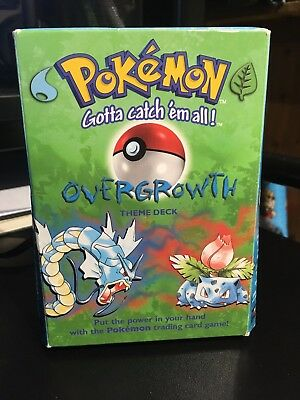 Pokémon Trading Card Game - Overgrowth Theme Deck - Base Set - 1999
