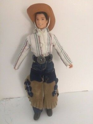 Rare Breyer Cowboy Doll 2002