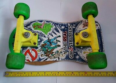 The Real Ghostbusters Skateboard RARE