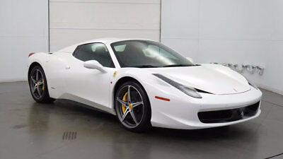 2014 Ferrari 458 Base Convertible 2-Door One-owner 2014 Ferrari 458 Spider Excellent colors Lots of Carbon Fiber Options