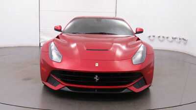 2013 Ferrari F12berlinetta 2dr Coupe Gorgeous Rosso Berlinetta Exterior Shields, Carbon Wheel/Dash/Bridge, Stunning!