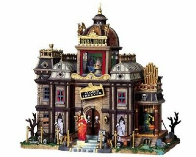 MINT Lemax Spooky Town Collection Phantom's Opera House #95807 w Adapter