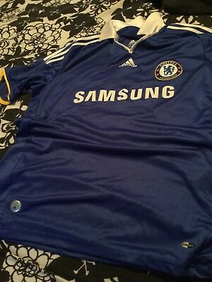 Men's Large Chelsea Football Official Top