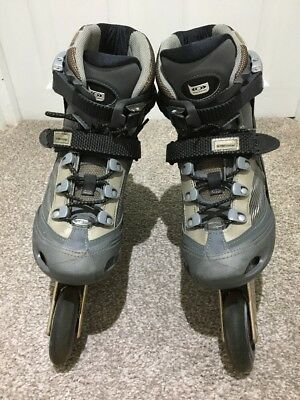 Ladies Salomon DR120 Grey Inline Skates 5.5