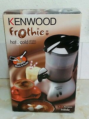 Kenwood ~ Frothie hot and cold drinks maker ~ 500W silver