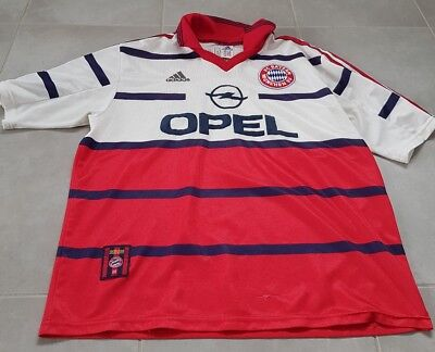 Maillot vintage collector football Bayern 1997 1998 taille XL