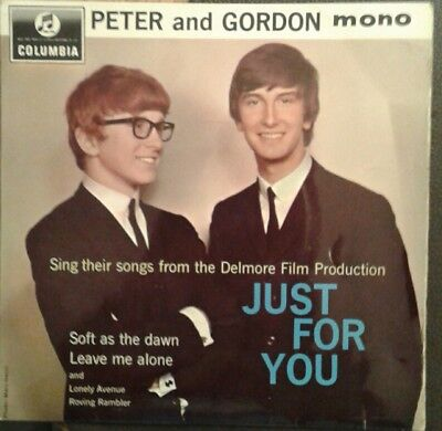 Peter and Gordon Just For You 45rpm Vinyl EP