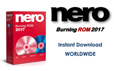 Nero Burning ROM 2017 Instant Download WORLDWIDE burn CD DVD