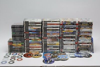 Sony PlayStation, PS2, PS3, PS4, and PSP Game Lot 140+ Games