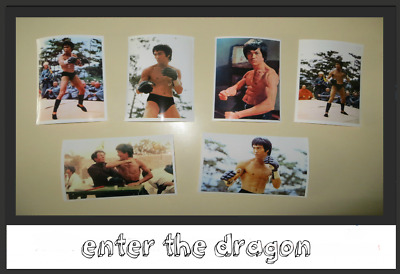 enter the dragon - collection 6  pic taille 10 x 15 neuf