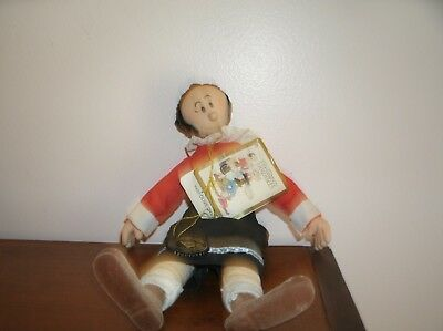 Vtg Olive Oyl Music Plush Doll 1985 Presents Hamilton By King Features Syndicate