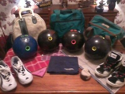 Ten Pin Bowling Balls, Shoes, Bags, and Accessories