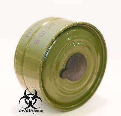 Russian NBC Gas mask GP-5 filter charcoal canister 40mm NATO Israel PMK