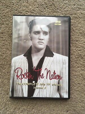 Elvis dvd Rockin The Nation vol 3 rare footage from Magnolia Gardens + tv shows