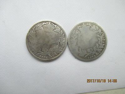 Victorian Sterling Silver Shilling 1871,1872