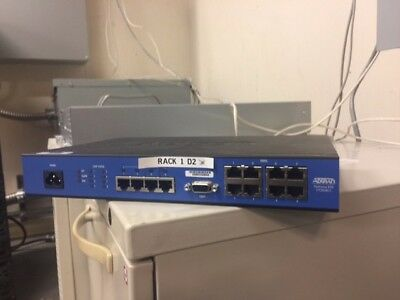 Adtran NetVanta 838T 8 Port  Metro Ethernet Switch 1172838G1