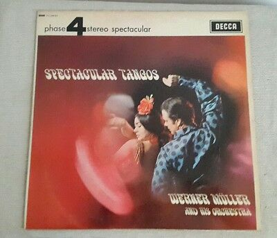 LP-Vinile 33 Giri Werner Muller & His Orchestra Spectacular Tangos