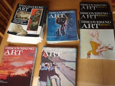 DISCOVERING ART MAGAZINE 1960's PRIMITIVE ART TO 20th CENTURY 146 ISSUES UNBOUND