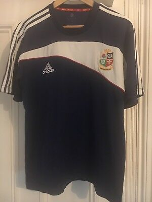 British Lions South Africa 2009  Rugby Shirt Adidas Size Large