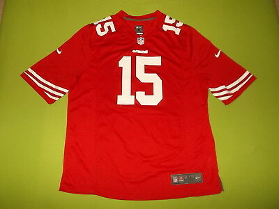 NEW Jersey SAN FRANCISCO 49ers (XL) NIKE #15 M. CRABTREE 2012/2014 NFL home