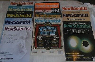 New Scientist magazines,14 copies, January to May 2012, in  good condition
