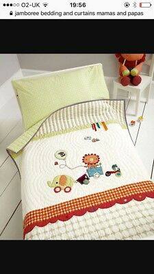 mamas ans papas jamboree bedding and curtains with matching tie backs unisex