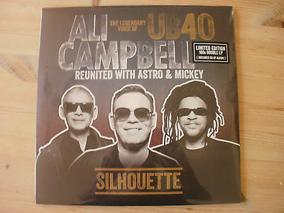 Ub40/ali Campbell Silhouette Ltd Edition 2 X Vinyl Album +Cd  Sealed