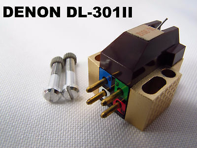 DENON DL-301II MC Cartridge Used Very Good Condition Shipping by EMS