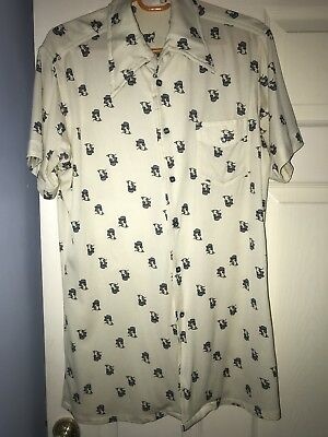 Retro 1970s Spearpoint Collared Shirt **no reserve**