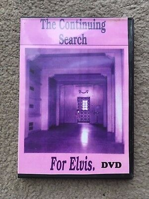 Elvis dvd The Continuing Search for Elvis Ltd Edt Rare Elvis locations visited