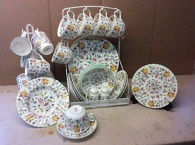 44Pic Haddon Hall Dinnerware of FIRST QUAILTY