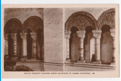 Vintage Postcard - St Albans Cathedral - South Transept - Religious Postcard 22