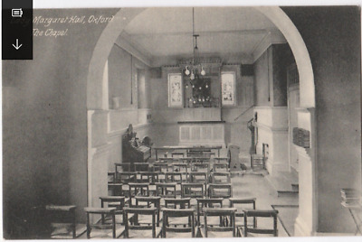 Vintage Postcard - Lady Margaret Hall, Oxford The Chapel- Religious Postcard (28