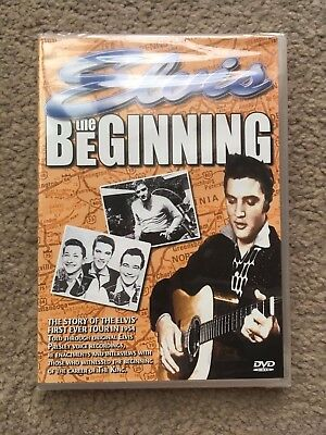 Elvis dvd The Beginning sealed .The story of Elvis' first ever tour in 1954