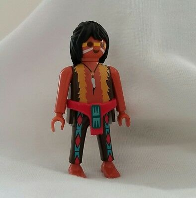 Playmobil collectable toy - Western, red indian brave