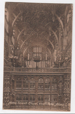 Vintage Postcard - Westminster Abbey - Henry VII Chapel - c1910s (31)