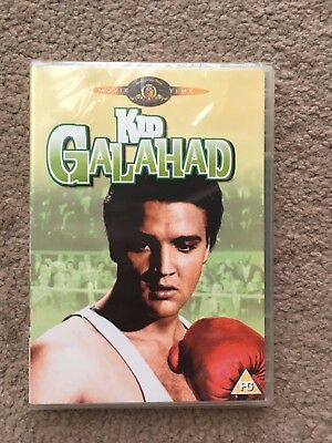 Elvis dvd Kid Galahad SEALED MGM rerelease . 1962 movie Elvis + Charles Bronson