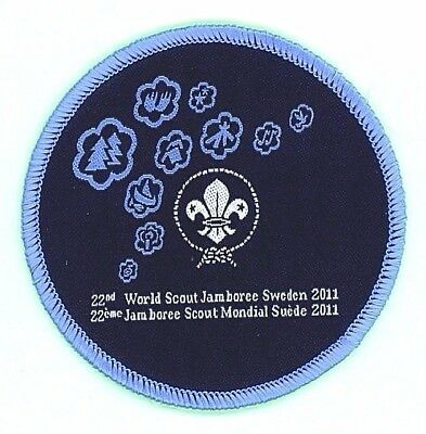 2011 WSJ WORLD JAMBOREE MONDIAL not 2017 NATIONAL SCOUT OFFICIAL UNIFORM PATCH