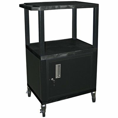 Tuffy 42 in. Utility Cart with Locking Cabinet