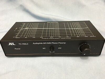 TCC TEC TC-760LC Preamplifier Phono MC/MM Control